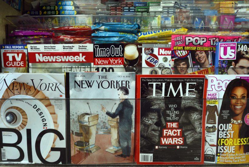 social media newsstand