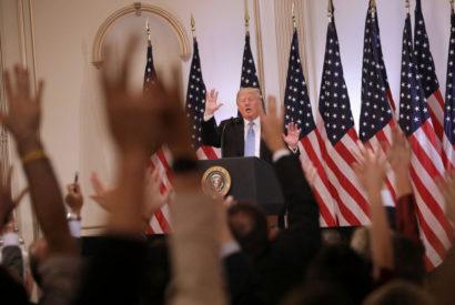 Donald Trump's UN press conference