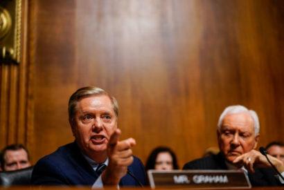 senator lindsey graham democrats kavanaugh kavanaughing