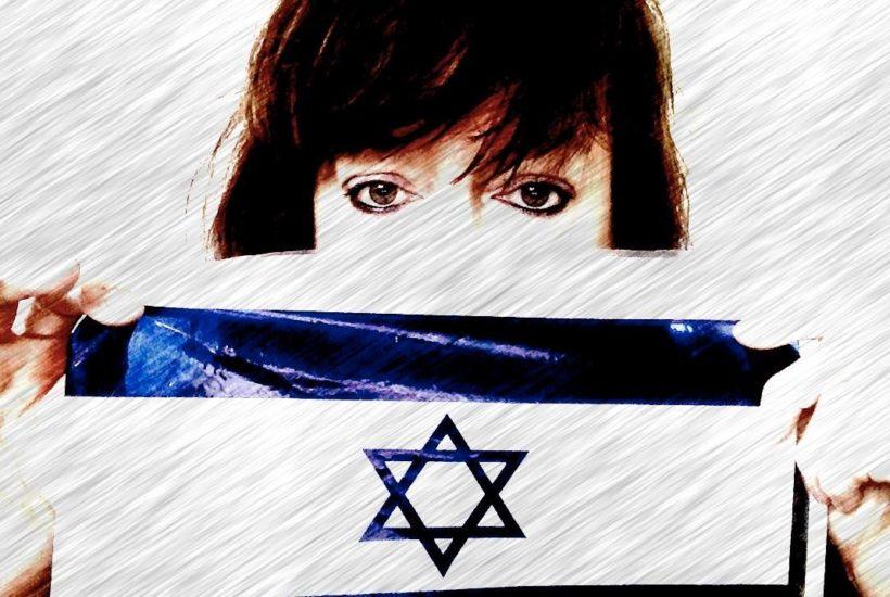 julie burchill israel flag pretended