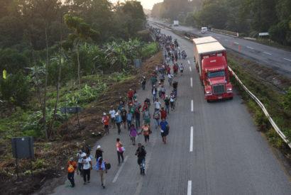 migrants migrant caravan honduras