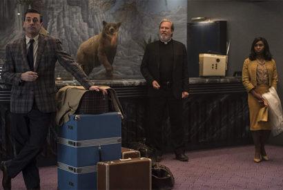 Jon Hamm, Jeff Bridges and Cynthia Erivo in Bad Times at the El Royale