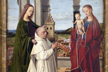 exeter madonna petrus christus van eyck