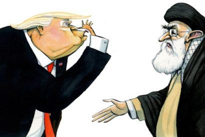 donald trump khamenei iran