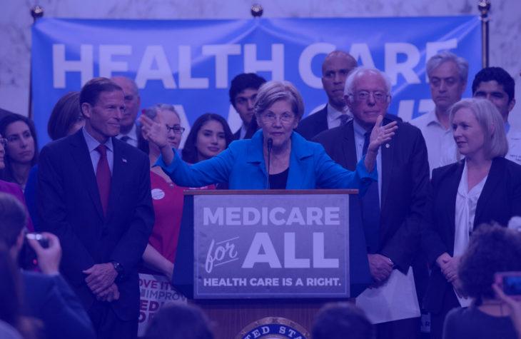 elizabeth warren richard blumenthal bernie sanders kirsten gillibrand democrats blue