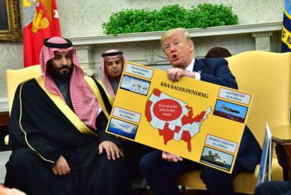 donald trump mohammad bin salman saudi arabia