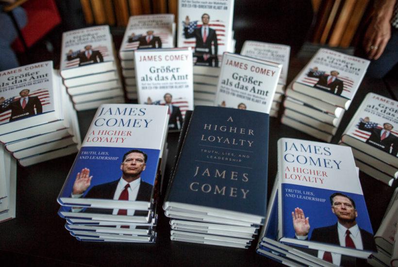 james comey books