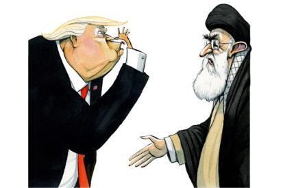 donald trump iran agenda