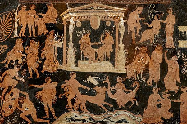 greek death underworld Eleusinian Mysteries