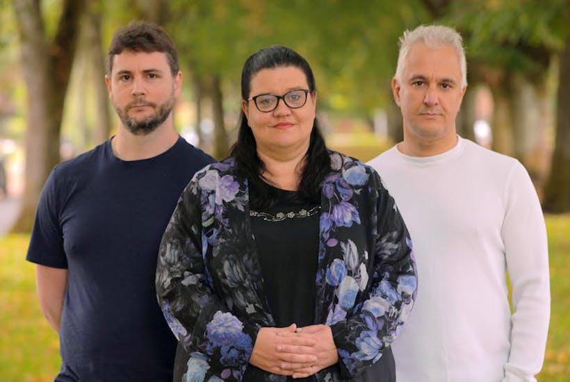 James Lindsay, Helen Pluckrose and Peter Boghossian (Mike Nayna)