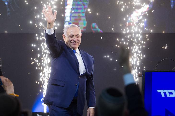Benjamin Netanyahu election win