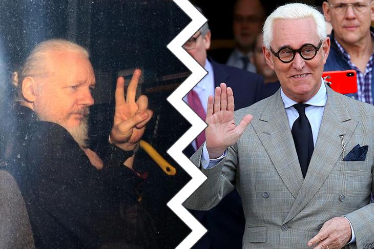 julian assange roger stone