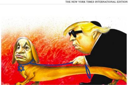 anti-semitic cartoon tropes new york times