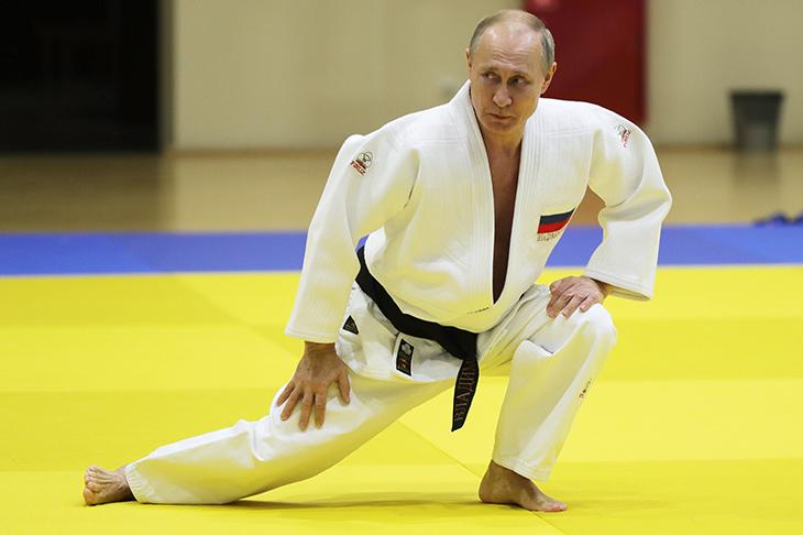 putin judo
