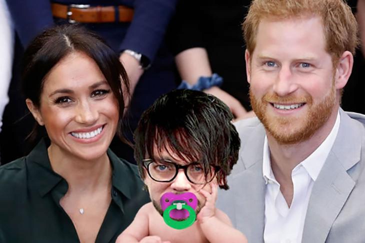 royal baby godfrey elfwick