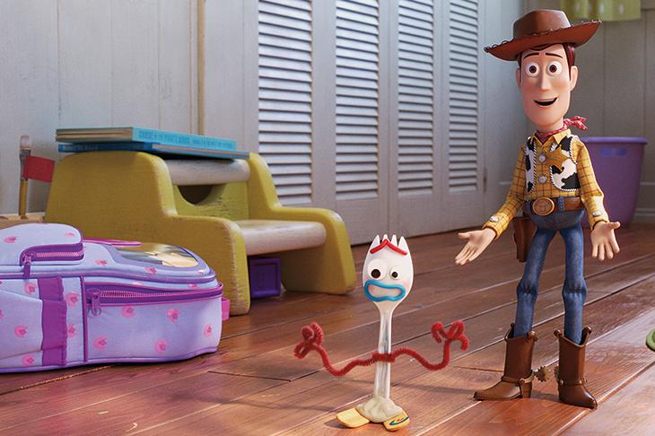 Forky Toy Story 4 Buzz Lightyear Woody I/'m Trash Kids Cartoon Enamel Pin Badge