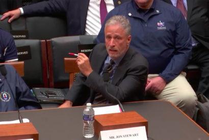 jon stewart congressional testimony