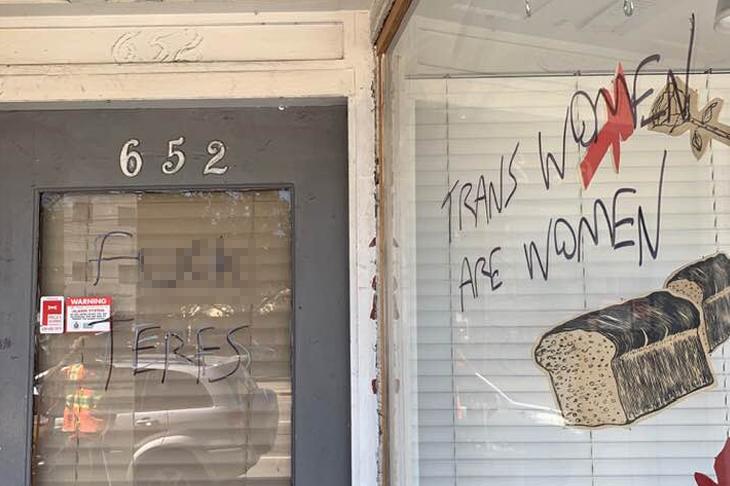 vancouver trans vandalizing