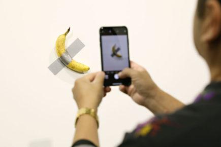 art basel banana