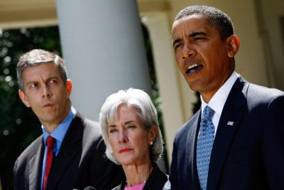 Barack Obama swine flu