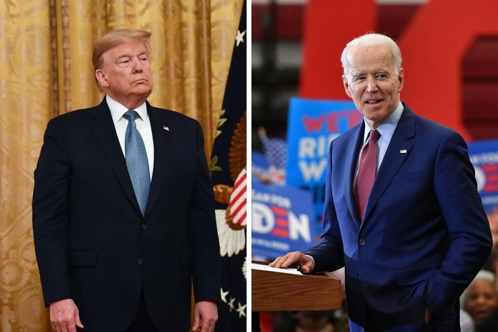 Trump Vs Biden Umfrage