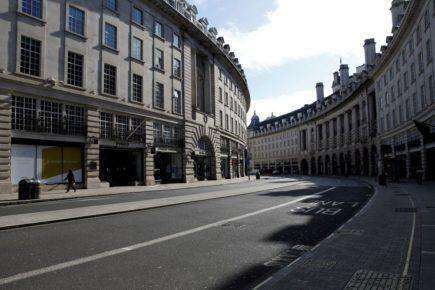 empty cities london