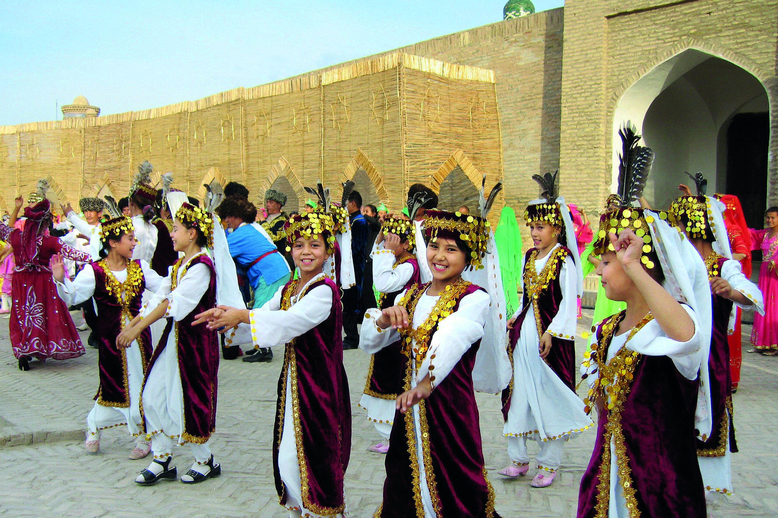 uzbekistan Dance to the music of time: Celebrations at the ancient Khorezm Mamum Academy, Khiva, 2006