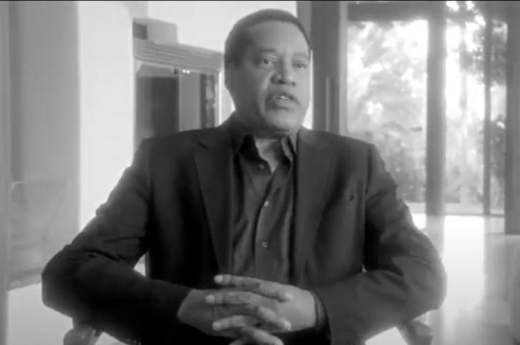 Larry Elder appears in Uncle Tom trailer