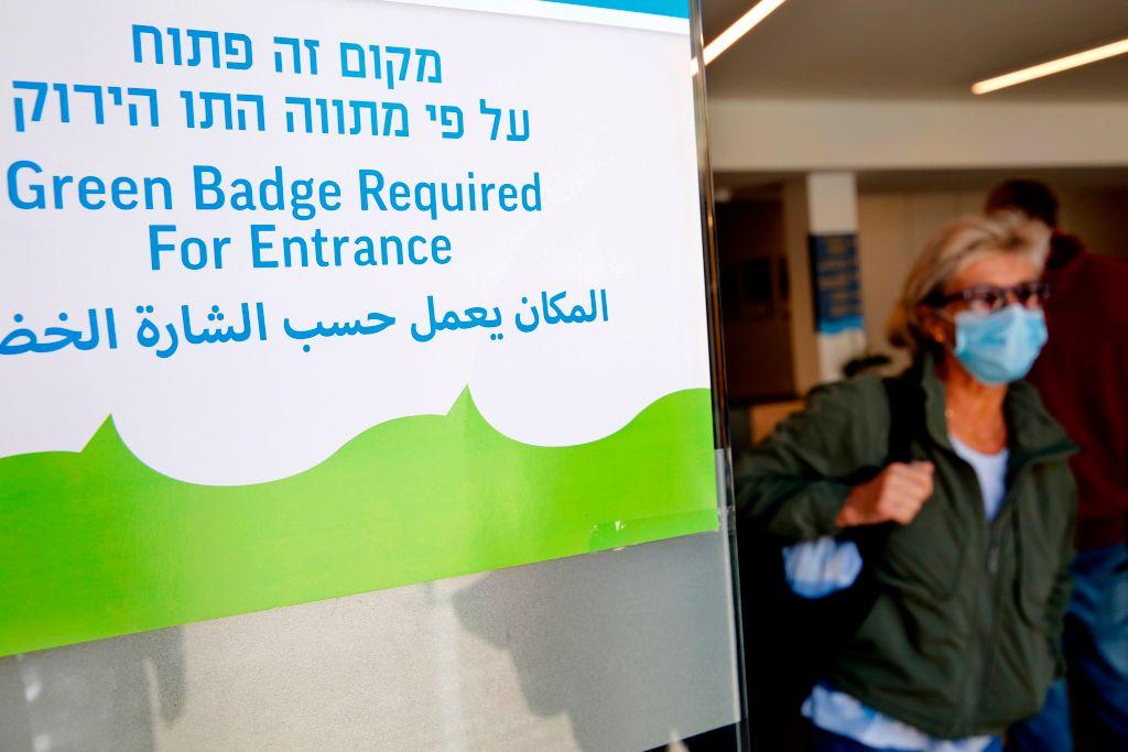 israel green pass