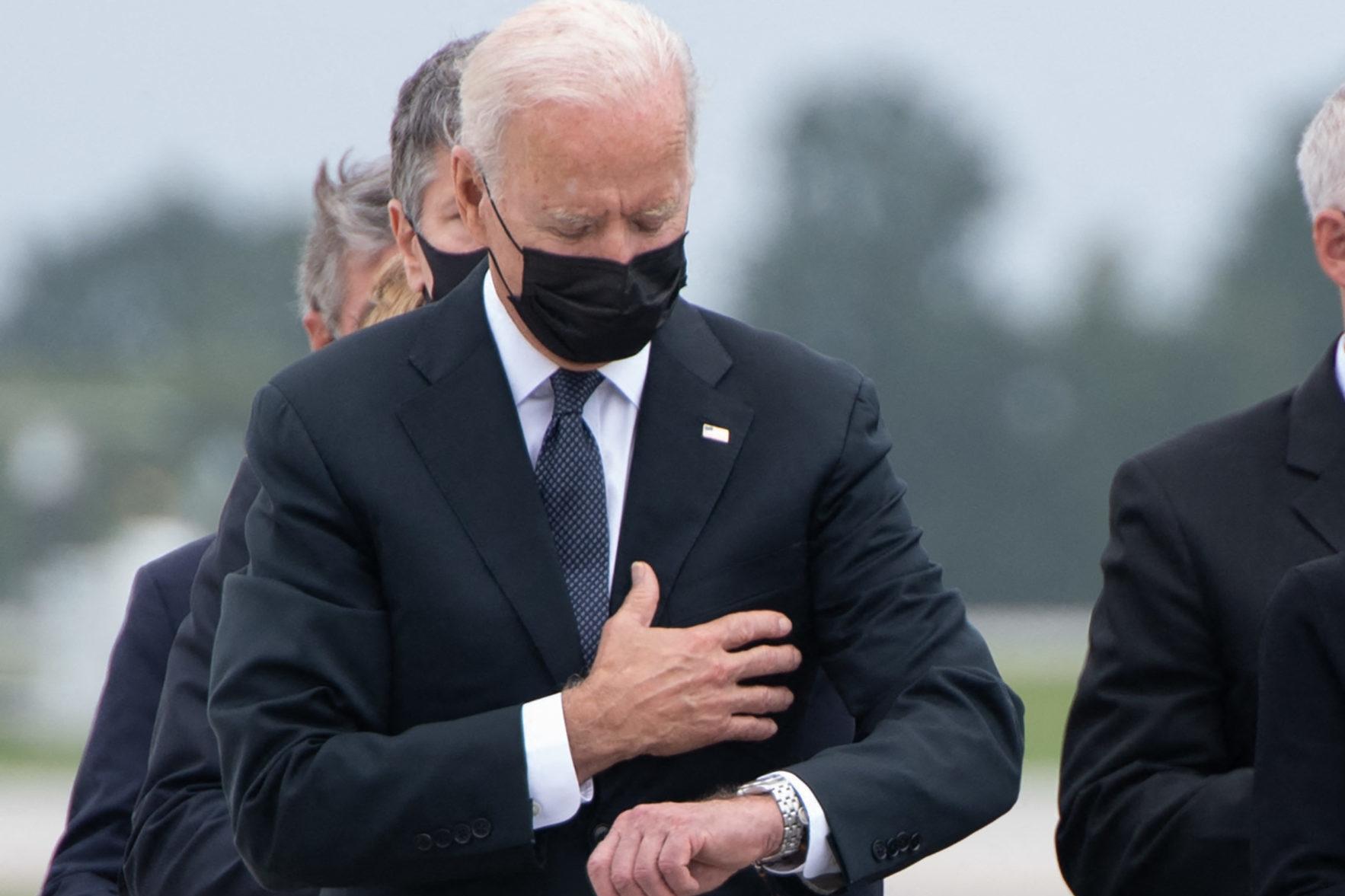 Joe Biden is not the grief whisperer - The Spectator World